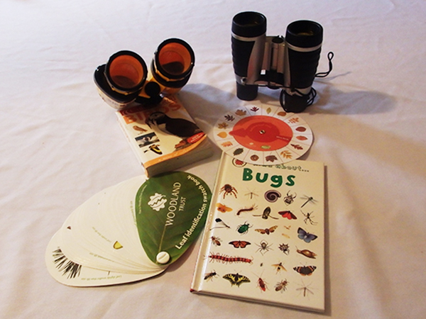 Get in touch with nature by using the wildlife books and binoculars supplied by Forda Farm B&B.