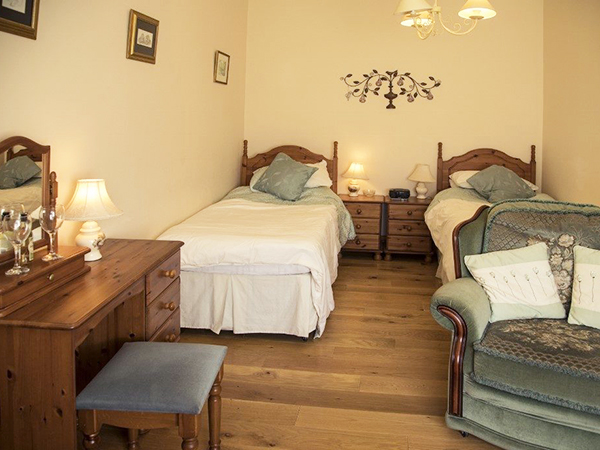 The Torridge room at Forda Farm B&B is another lovely room to stay in during your holiday.