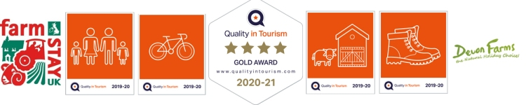High quality holiday accommodation with quality in tourism awards.